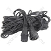 Outdoor string light extension cable 5m