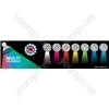 Multicolour GU10 LED Lamp - 18 LEDS