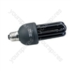 Black light, ultra violet lamp, low energy, BC, 20W