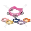 Mini D tambourine - assorted