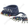 8 Way RCA Phono-6.3mm Jack 3.0m