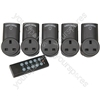 RC3 Set of 3 RF controlled socket