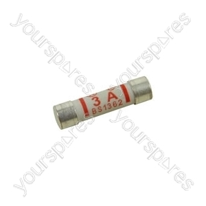 Assorted mains plug fuses, 3x3A, 2x5A &amp; 5x13A