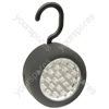 24 LED Round Work Light With Hook