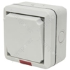 1 Gang double pole outdoor switch