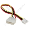 "5.25"" to 3.25"" Internal PC Power Lead"
