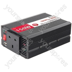 DC to AC power inverter, 12Vdc, 1000W - Soft start
