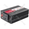 DC to AC power inverter, 24Vdc, 150W - Soft start