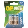 Ultra+ Alkaline batteries, AA, 1.5V, packed 4/blister