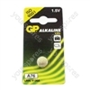 Alkaline button cell, 1.5V/ LR44, 10 pieces per blister