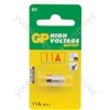 11A 6V alkaline battery - 5 piece blister