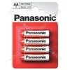 D Panasonic Zinc Carbon - 2 Pack