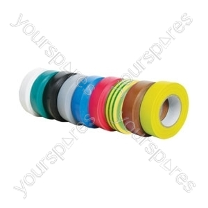 PVC20EA Electrical insulation tape, 20m, green/yellow