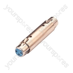 XLR coupler female to female