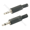 3.5mm stereo plug, plastic