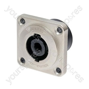 NEUTRIK NLT4MP 4 pole male chassis connector