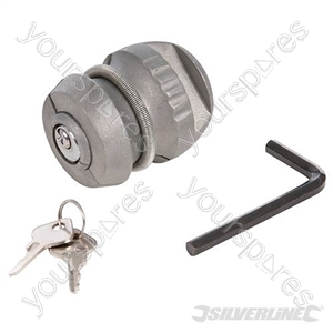 Trailer Hitch Lock - 65 x 48mm