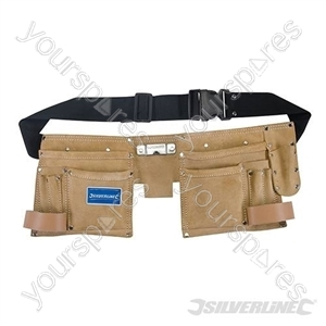 Double Pouch 11 Pocket Tool Belt - 300 x 200mm