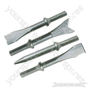 Air Hammer Chisel Set - 4pce Chisels