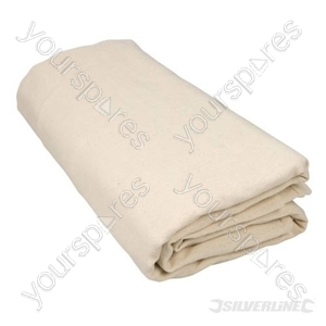 Dust Sheet Bolton Twill - 3.5 x 2.6m