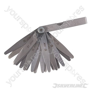 Feeler Gauge - 0.051-0.635mm (26 leaves)