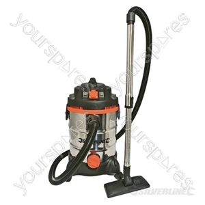 Wet & Dry Vacuum Cleaner 30Ltr - 1500W