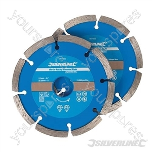 Mortar Raking Diamond Blade 2pk - 115 x 22.2mm
