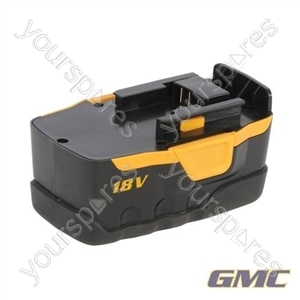 18V Battery Pack 1.5Ah Ni-Cad - 2G18B1