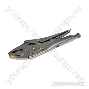Self-Locking Pliers - 180mm Curved