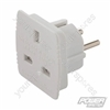 German Travel Adaptor - 220 - 240V