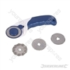 3-in-1 Rotary Cutter - 45mm dia blades