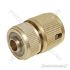 Quick Connector Auto Stop Brass - 1/2""