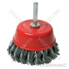 Twist-Knot Cup Brush - 75mm