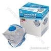 Respirator Fold Flat Valved FFP2 Display Box 25pk - FFP2