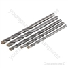 Masonry Drill Bits Set 5pce - 4-7mm