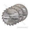 TCT Circular Saw Blades 3pk - 180 x 30 - 20, 16mm rings