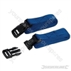 Clip Buckle Straps Set 2pce - 2m x 25mm