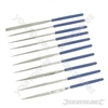 Diamond Needle File Set 10pce - 140mm