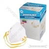 Respirator Fold Flat FFP1 Display Box 50pk - FFP1