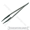 Anti-Static Tweezers - 2mm Square Tip