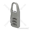 Combination Padlock Zinc Alloy - 3-digit