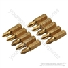 Phillips Diamond Screwdriver Bits 10pk - No.1