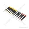 Precision Screwdriver Set 12pce - 105mm