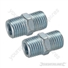 "Air Line Equal Union Connector - 6mm (1/4"") BSPT"