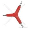 3-Way Slotted Screwdriver - 4, 5, 6mm