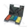 Drill Screwdriver Bit &amp; Wall Plug Set 300pce - Approx. 300pce