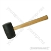 Black Rubber Mallet - 16oz