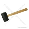 Black Rubber Mallet - 24oz