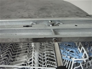 Adjust dishwasher door