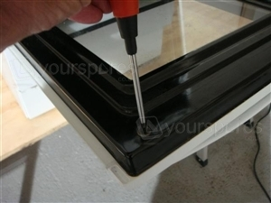 K341G Oven Door Glass 1